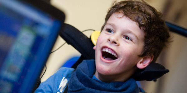 One of the children SpecialEffect has helped