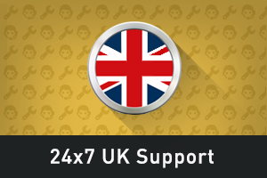 24x7 UK Support