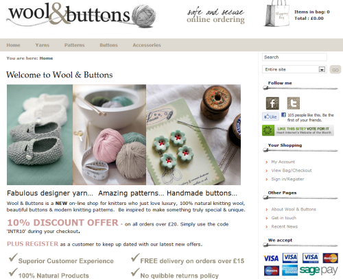 Wool and Buttons