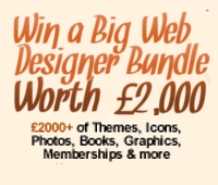 New ways to enter our Big Web Designer Bundle contest!