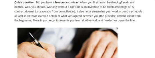 Contract Clauses You Should Never Freelance Without | 20 Essential Articles For Freelancers And Web Creatives Heart