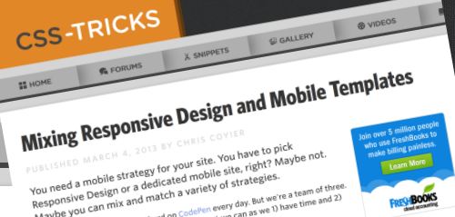 40 articles and resources to improve your responsive design skills