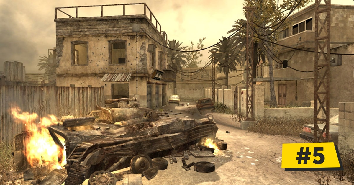 10 best Call of Duty designed multiplayer maps & why they rock 6