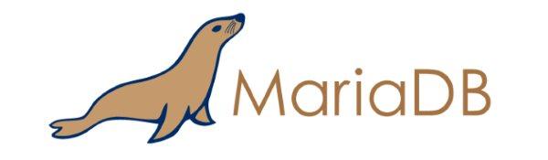 The logo for MariaDB