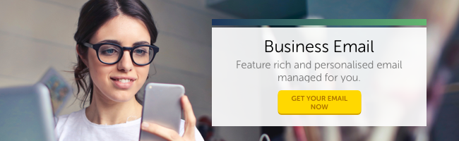 Business Email: Feature rich and personalised email managed for you