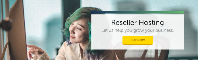 Reseller Hosting: Let us help you grow your business