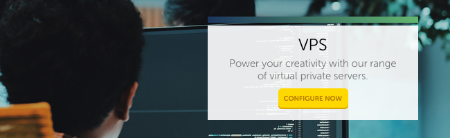 VPS: Power your creativity with our range of virtual private servers