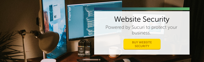 Website Security powered by Sucuri to protect your business