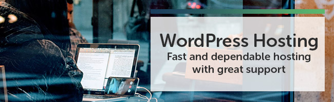 WordPress Hosting: Fast and dependable hosting with great support