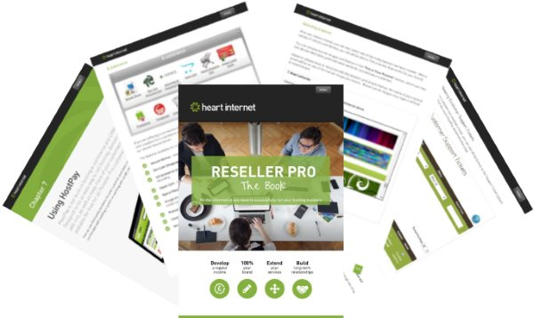 Pages from the Reseller Pro Guide