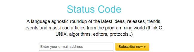 Status Code Newsletter