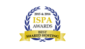 ISPA Awards for Best Shared Hosting
