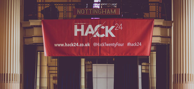The Hack24 Banner