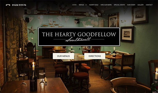 The Hearty Goodfellow front page