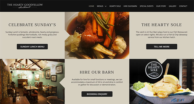 The Hearty Goodfellow offers page