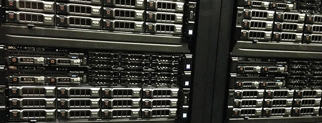 The new servers ready to be used for shared hosting
