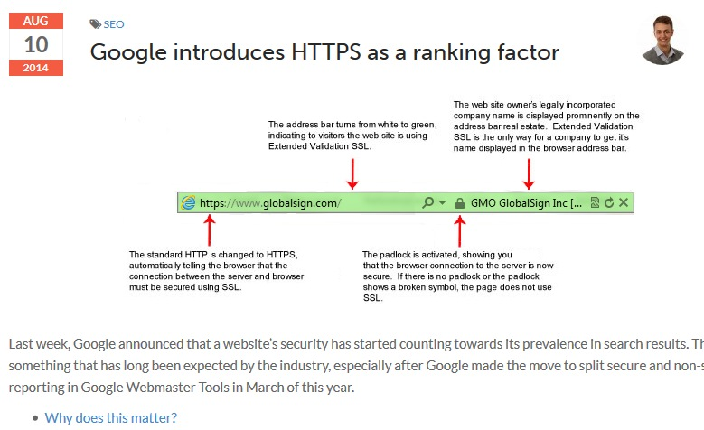 Boost your search rankings with an SSL certificate - Heart Internet