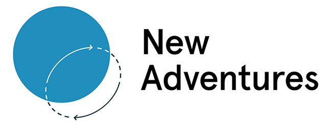 The New Adventures in Web Design logo