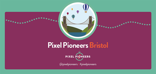 Pixel Pioneers Bristol Logo