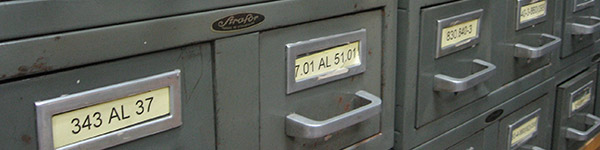 Photo of a file cabinet
