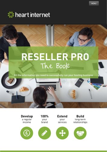 The cover of the Reseller Pro Guide
