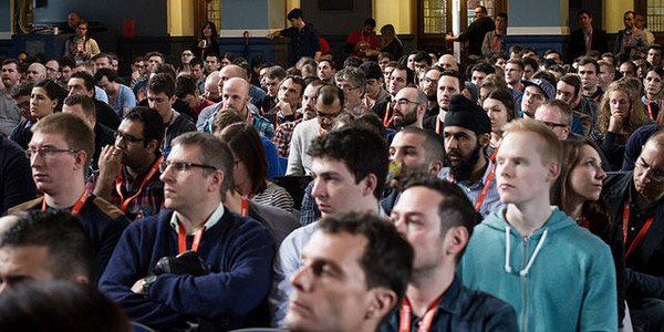 The audience at SmashingConf Oxford 2015