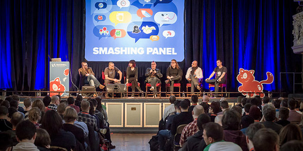 The Smashing Speakers' Panel at SmashingConf Oxford 2015