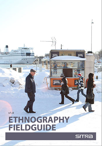 Cover of the Ethnography Field Guide released by the Helsinki Institute