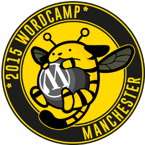 2015 WordCamp Manchester Logo