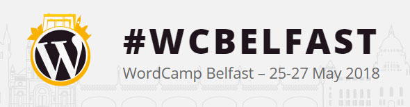 The WordCamp Belfast logo