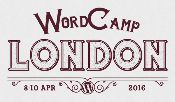 The 2016 WordCamp London logo