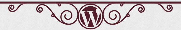 The footer image from the WordCamp London website, including the WordPress logo