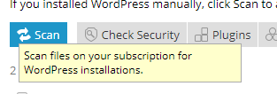 Scanning your VPS for WordPress installations with the WordPress Toolkit