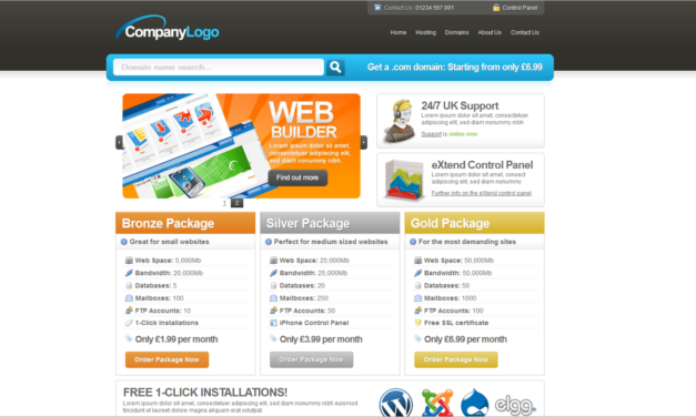 Brand new free web hosting themed HTML/ CSS template - Heart ...