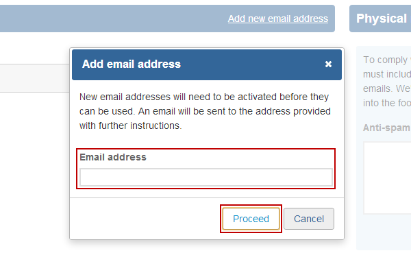 how to send multiple emails to one address